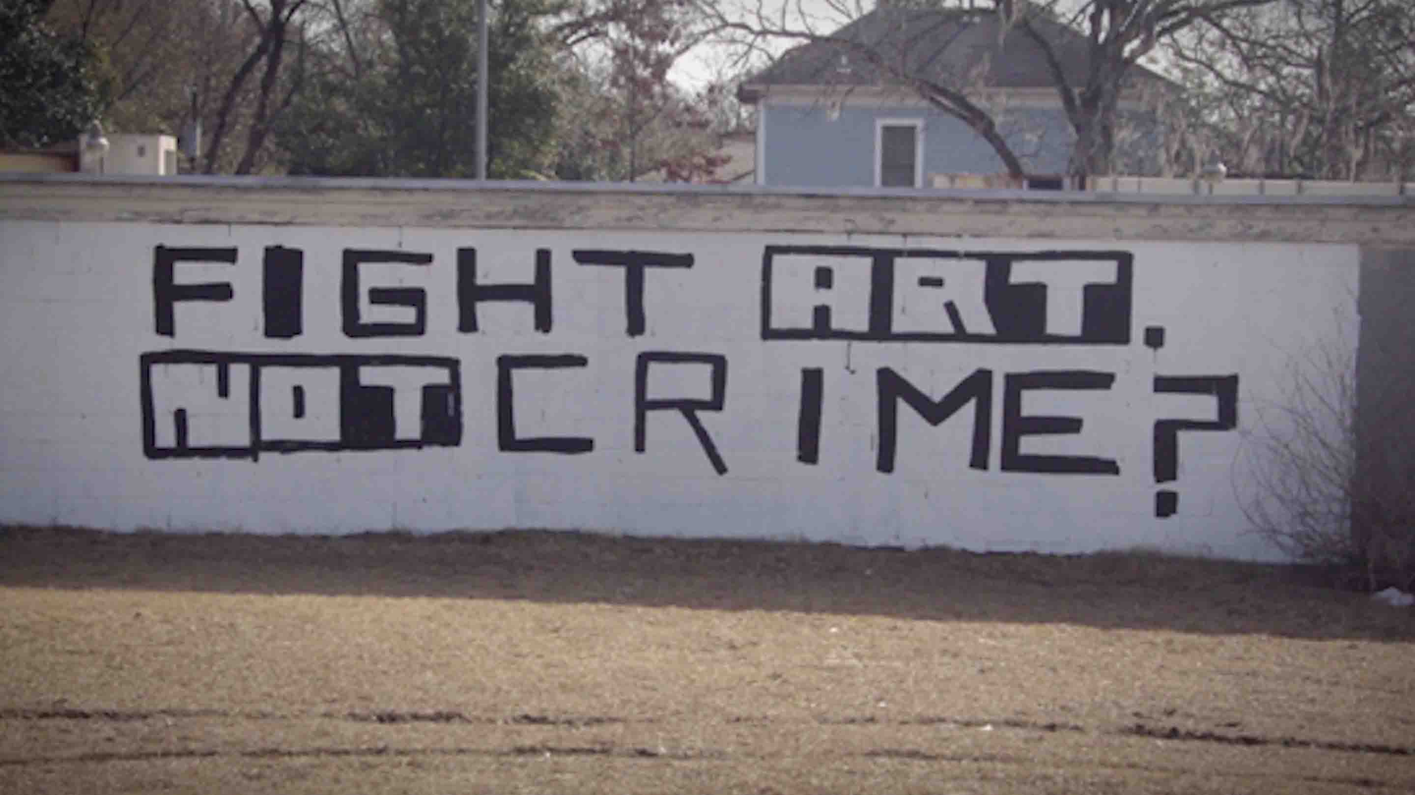 White Walled 34th Habersham Fight Art Not Crime