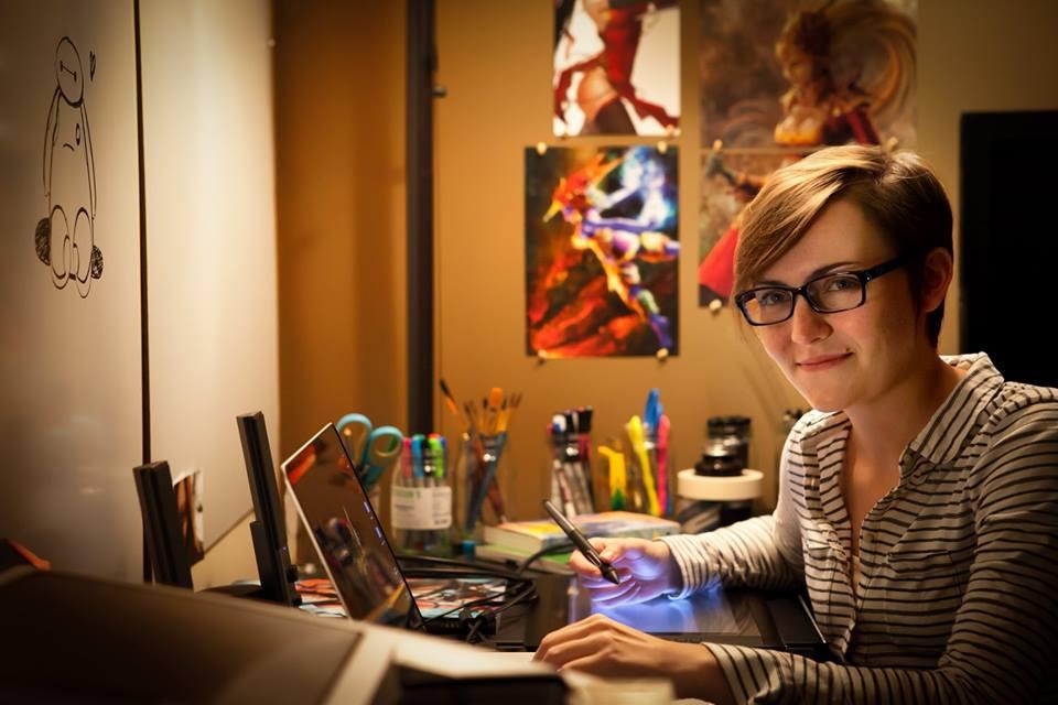 Shea Lord studio nerd